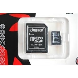 Cartão de  memoria Micro SD Kingston 4GB class10 UHS-I SDH - 1.2.5.69.78.6544