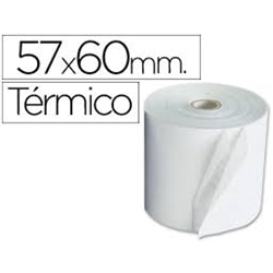 Rolos Papel Termico 57X60x11 Pack 10 - 6.23.70.6507