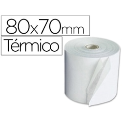 ROLOS PAPEL TERMICO 80X70X11 PACK 10 - 1571021