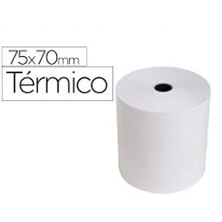 Rolos Papel Termico 75x70x11 Pack 10 - 6.23.70.6492