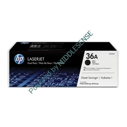 Toner Original HP 36A - Pack de 2 - preto - 10.4.9.103.53.1674